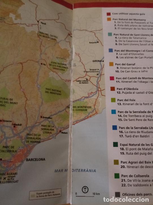Libros de segunda mano: RUTES DE FLORA I FAUNA - XARXA PARCS NATURALS - DIPUTACIÓ BARCELONA 2008 - CATALÀ - Foto 2 - 236913755