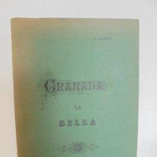 Libros de segunda mano: GRANADA LA VELLA. A. GANIVET. EDITORIAL DON QUIJOTE 1981.. Lote 236992830