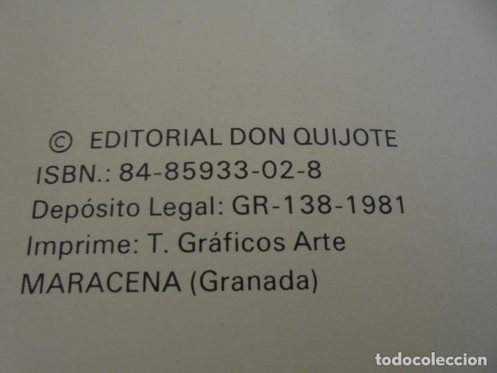 Libros de segunda mano: GRANADA LA VELLA. A. GANIVET. EDITORIAL DON QUIJOTE 1981. - Foto 7 - 236992830