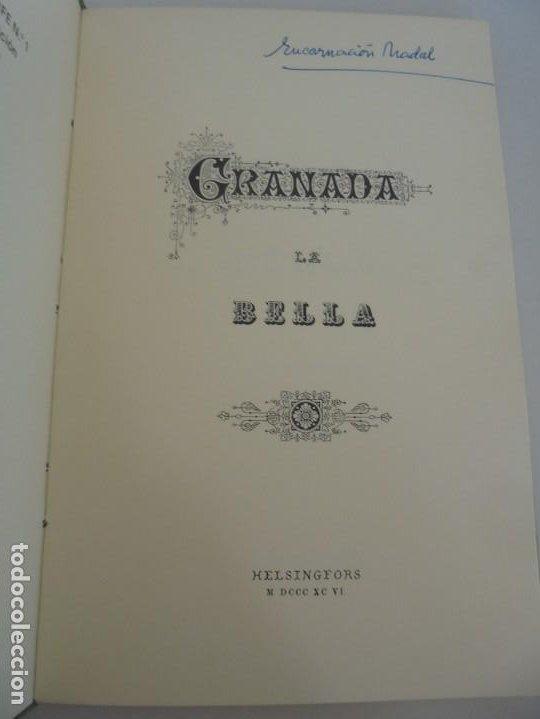 Libros de segunda mano: GRANADA LA VELLA. A. GANIVET. EDITORIAL DON QUIJOTE 1981. - Foto 8 - 236992830