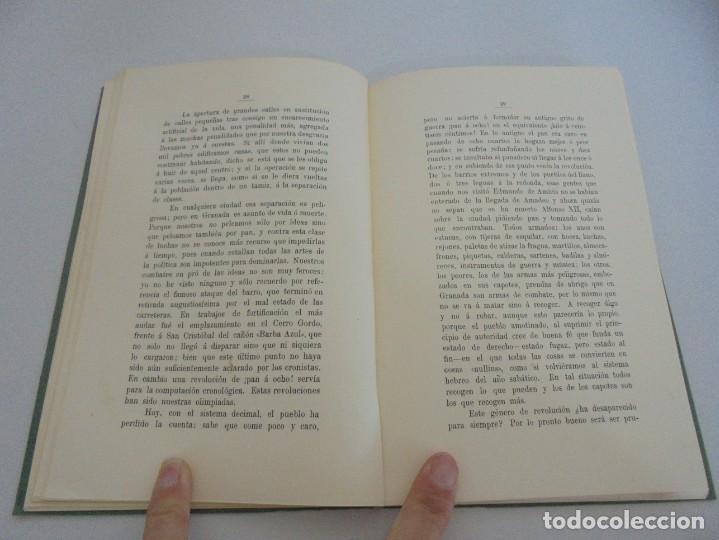 Libros de segunda mano: GRANADA LA VELLA. A. GANIVET. EDITORIAL DON QUIJOTE 1981. - Foto 11 - 236992830