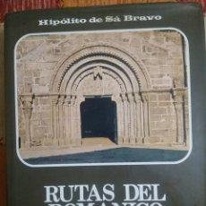 Libros de segunda mano: RUTAS DEL ROMÁNICO. Lote 237161570