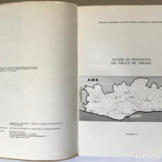 Libros de segunda mano: ESTUDIO DE ORDENACION DEL PARQUE DEL TIBIDABO.. Lote 237459890