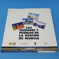 Libros de segunda mano: LAS CIUDADES Y PUEBLOS DE LA REGIÓN DE MURCIA - DE LA A A LA Z. Lote 237470635