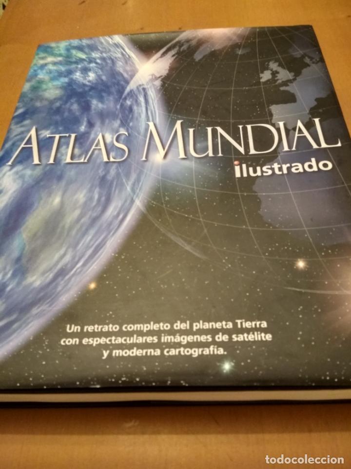 ATLAS MUNDIAL ILUSTRADO (Libros de Segunda Mano - Geografía y Viajes)