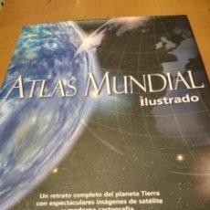 Libros de segunda mano: ATLAS MUNDIAL ILUSTRADO. Lote 237960020