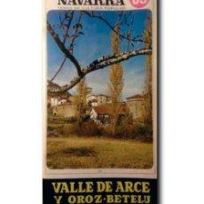 Livres d'occasion: NAVARRA TEMAS DE CULTURA POPULAR Nº 89: VALLE DE ARCE Y OROZ- BETELU. URTASUN Y VILLANUEVA, BENITO. Lote 239550520
