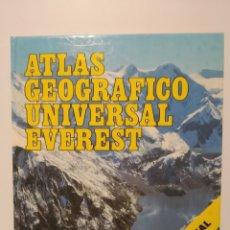 Libros de segunda mano: ATLAS GEOGRÁFICO UNIVERSAL EVEREST. Lote 240274940