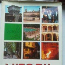 Libros de segunda mano: VITORIA.EDITA AYUNTAMIENTO DE VITORIA, 1978.NUMEROSAS FOTOGRAFÍAS DE ÉPOCA.. Lote 240658710