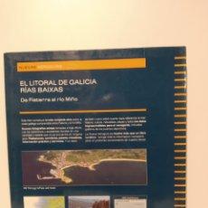 Libros de segunda mano: NUEVAS AEROGUIAS. GEOPLANETA. LITORAL GALICIA. RÍAS BAIXAS DE FISTERRA A RÍO MIÑO. ATLAS. Lote 240977215
