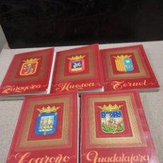 Libros de segunda mano: GEOGRAFÍA Y VIAJES....ZARAGOZA..HUESCA..TERUEL..LOGROÑO..GUADALAJARA....1976.... Lote 241736045