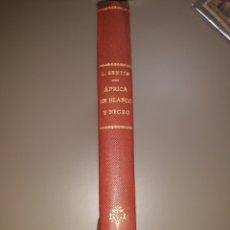 Libros de segunda mano: ÁFRICA EN BLANCO Y NEGRO. C. SENTÍS. ENCUADERNADO. Lote 242879215