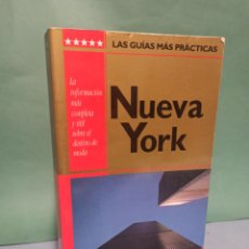 Libros de segunda mano: NUEVA YORK LAS GUÍAS MÁS PRÁCTICAS EDITORIAL AGUILAR. Lote 243127410