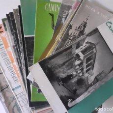 Libros de segunda mano: LOTE 42 EJEMPLARES CAMINOS DE ESPAÑA - RAREZA - FOLLETOS TURÍSTICOS PATROCINADOS POR FARMACÉUTICAS. Lote 243765210
