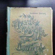 Libros de segunda mano: ATLAS GEOGRAFÍA UNIVERSAL. Lote 244026590