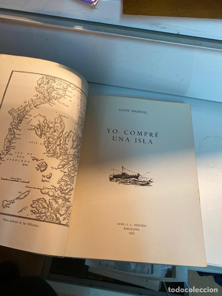 Libros de segunda mano: Yo compré una isla - Foto 3 - 245106560