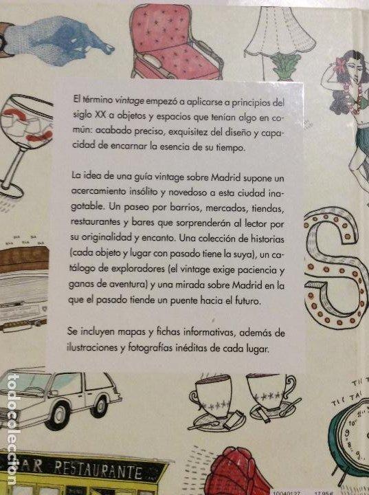 Libros de segunda mano: GUIA VINTAGE DE MADRID MARIO SUÁREZ Y ANABEL VÁZQUEZ - Foto 2 - 245313415
