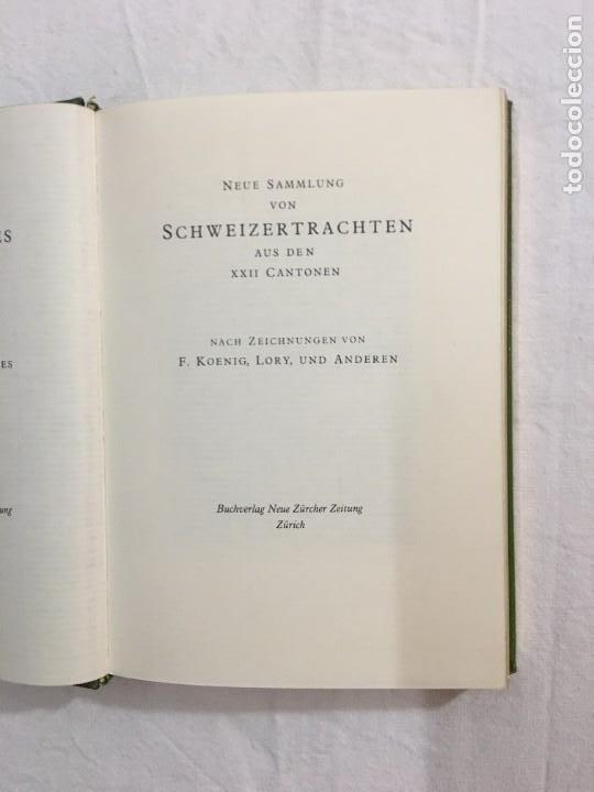 Libros de segunda mano: F. Koenig, Lory, et dAutres. Nouvelle Col. de Costumes Suisses des XXII Cantons. (Facsímil). 1820. - Foto 2 - 246307485