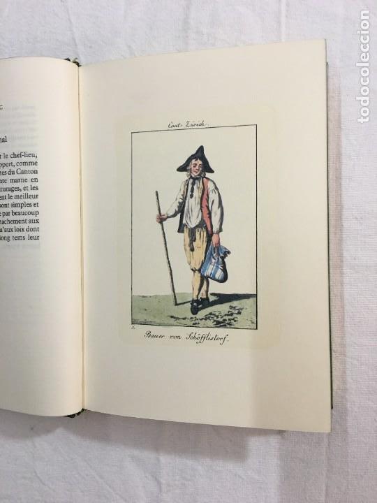 Libros de segunda mano: F. Koenig, Lory, et dAutres. Nouvelle Col. de Costumes Suisses des XXII Cantons. (Facsímil). 1820. - Foto 3 - 246307485