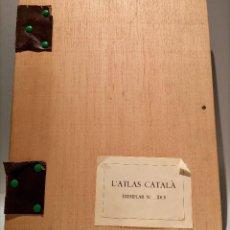 Libros de segunda mano: L'ATLAS CATALA - ABRAHAM CRESQUES - EDICIÓN NUMERADA - TÀPIES. Lote 246693775