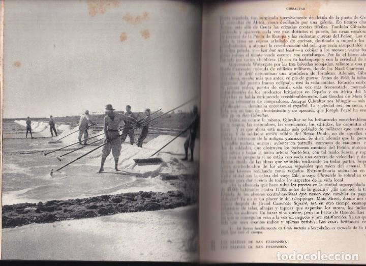 Libros de segunda mano: LA ESPAÑA DEL SUR - JEAN SERMET - EDITORIAL JUVENTUD - 1956 - 1ª EDICION - Foto 5 - 246778245