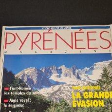Libros de segunda mano: PYRÉNÉES MAGAZINE N°10. 1990 . LA GRANDE EVASION. Lote 246875285