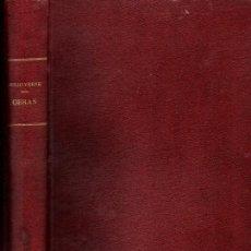 Libros de segunda mano: JULIO VERNE : OBRAS (SAENZ DE JUBERA, GASPAR) VER DETALLE. Lote 247168690