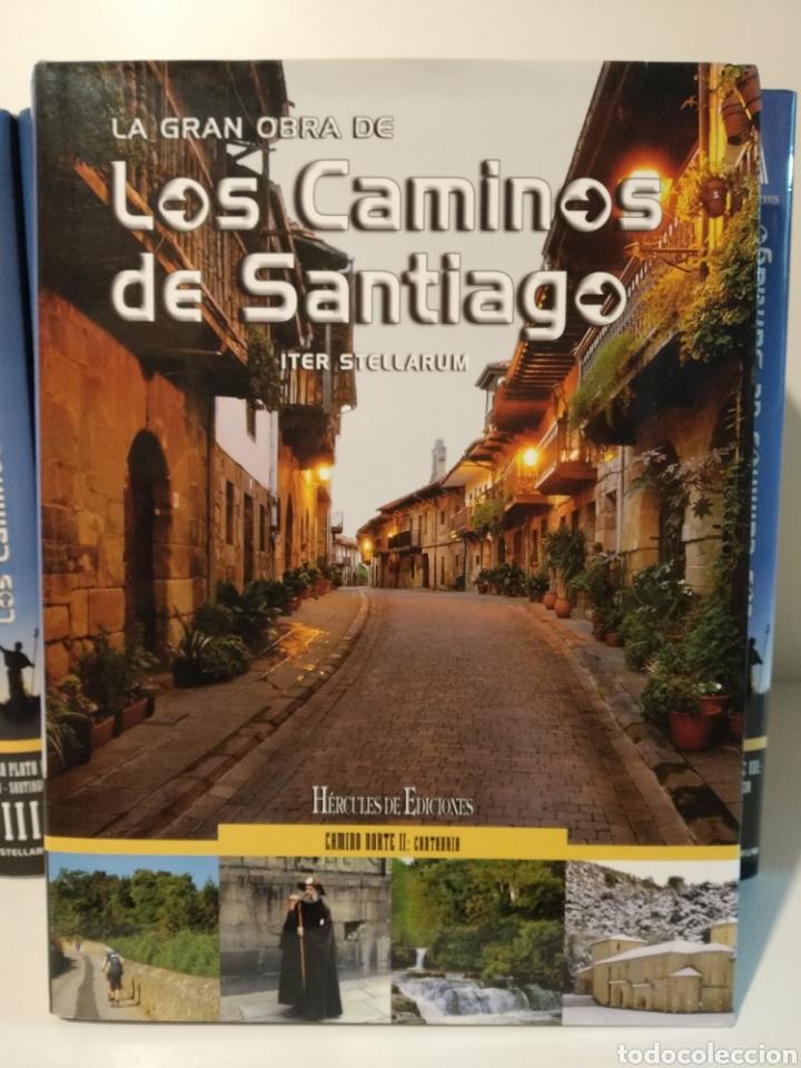 Libros de segunda mano: LA GRAN OBRA DE LOS CAMINOS DE SANTIAGO. Iter stellarum. Hércules ediciones. 15 tomos - Foto 2 - 247425650