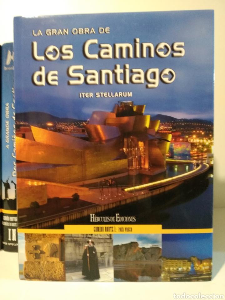 Libros de segunda mano: LA GRAN OBRA DE LOS CAMINOS DE SANTIAGO. Iter stellarum. Hércules ediciones. 15 tomos - Foto 3 - 247425650