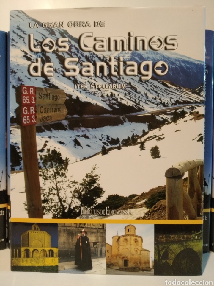 Libros de segunda mano: LA GRAN OBRA DE LOS CAMINOS DE SANTIAGO. Iter stellarum. Hércules ediciones. 15 tomos - Foto 4 - 247425650