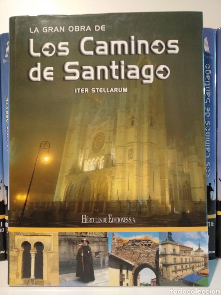 Libros de segunda mano: LA GRAN OBRA DE LOS CAMINOS DE SANTIAGO. Iter stellarum. Hércules ediciones. 15 tomos - Foto 7 - 247425650