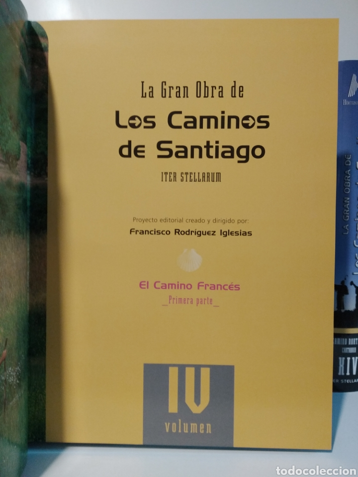 Libros de segunda mano: LA GRAN OBRA DE LOS CAMINOS DE SANTIAGO. Iter stellarum. Hércules ediciones. 15 tomos - Foto 8 - 247425650
