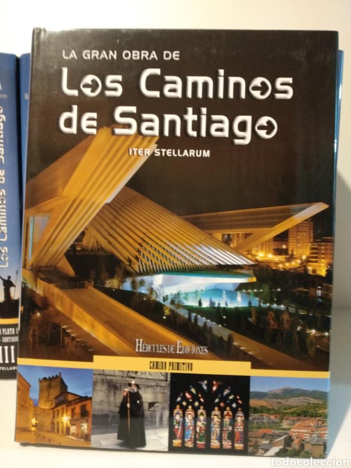 Libros de segunda mano: LA GRAN OBRA DE LOS CAMINOS DE SANTIAGO. Iter stellarum. Hércules ediciones. 15 tomos - Foto 9 - 247425650