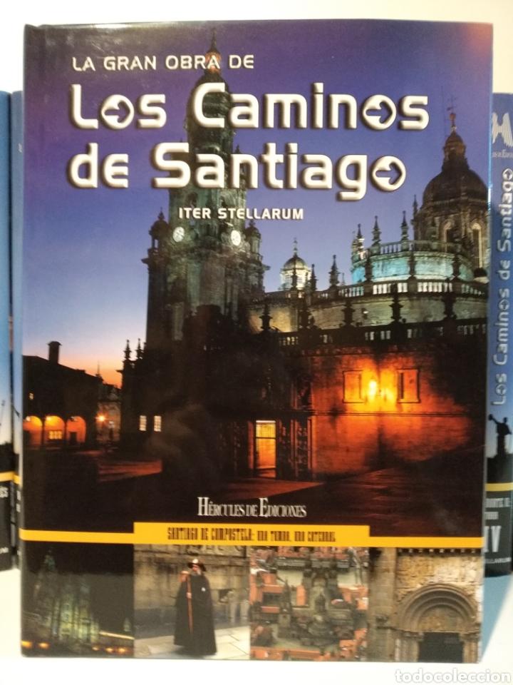 Libros de segunda mano: LA GRAN OBRA DE LOS CAMINOS DE SANTIAGO. Iter stellarum. Hércules ediciones. 15 tomos - Foto 11 - 247425650