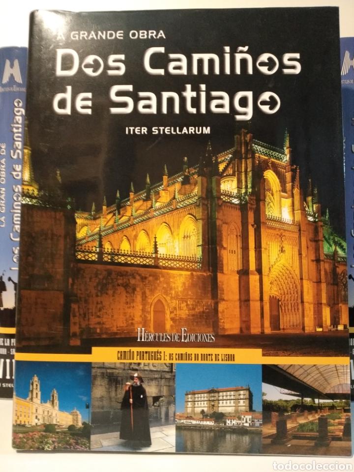 Libros de segunda mano: LA GRAN OBRA DE LOS CAMINOS DE SANTIAGO. Iter stellarum. Hércules ediciones. 15 tomos - Foto 13 - 247425650