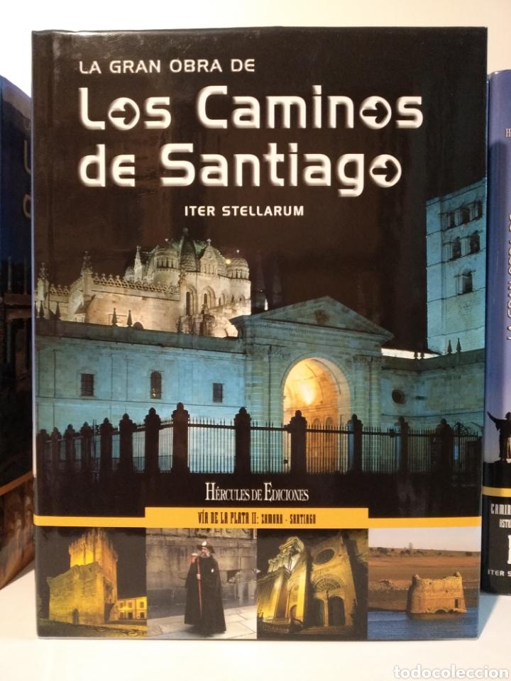 Libros de segunda mano: LA GRAN OBRA DE LOS CAMINOS DE SANTIAGO. Iter stellarum. Hércules ediciones. 15 tomos - Foto 14 - 247425650