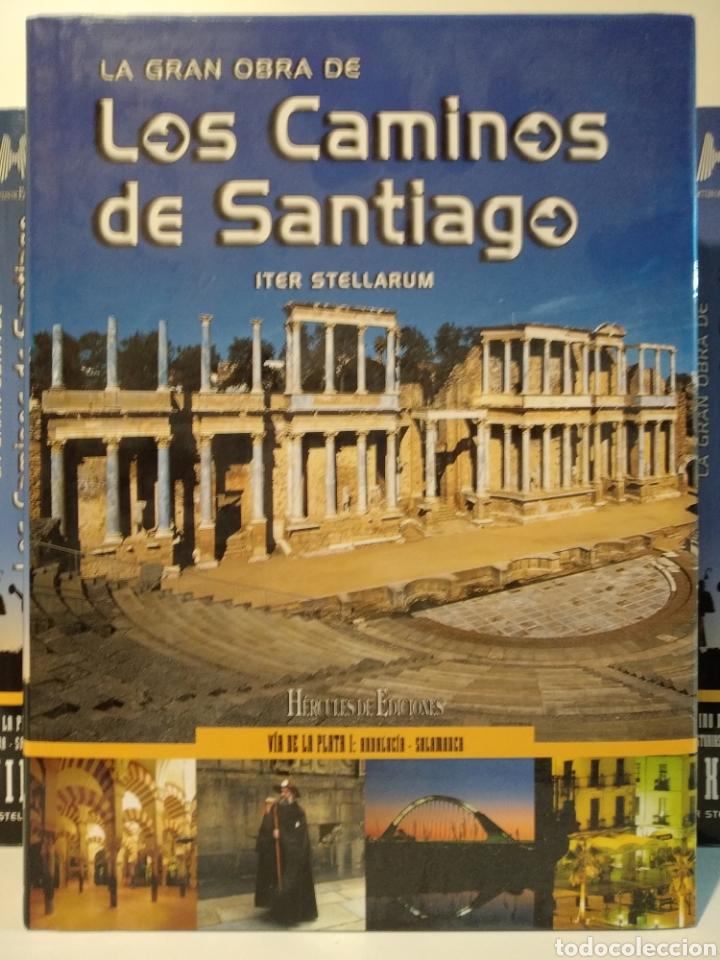 Libros de segunda mano: LA GRAN OBRA DE LOS CAMINOS DE SANTIAGO. Iter stellarum. Hércules ediciones. 15 tomos - Foto 16 - 247425650
