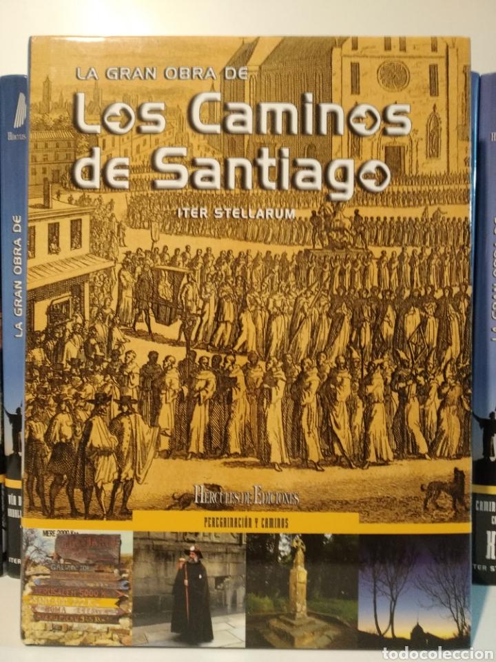 Libros de segunda mano: LA GRAN OBRA DE LOS CAMINOS DE SANTIAGO. Iter stellarum. Hércules ediciones. 15 tomos - Foto 18 - 247425650
