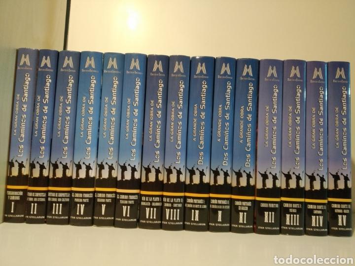 LA GRAN OBRA DE LOS CAMINOS DE SANTIAGO. ITER STELLARUM. HÉRCULES EDICIONES. 15 TOMOS (Libros de Segunda Mano - Geografía y Viajes)