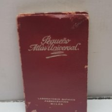 Libros de segunda mano: PEQUEÑO ATLAS UNIVERSAL DE LABORATORIO QUIMICO MILAN. Lote 247611720