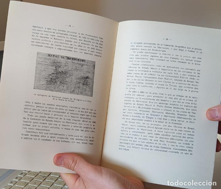 Libros de segunda mano: Cartografía del África española, Manuel Lombardero, Real sociedad geografica, 1944-45 RARO - Foto 4 - 249277430