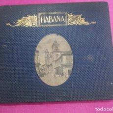 Libri di seconda mano: HABANA CUBA PHOTO GRAVURES ALBUM DE FOTOGRAFIAS DE KARL C. HANDEL 1900. Lote 252052395