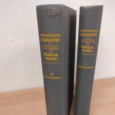 Libros de segunda mano: CATALUÑA AL DICCIONARIO GEOGRAFICO DE PASCUAL MADOZ. Lote 252063405