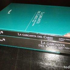 Livros em segunda mão: LA GARGANTA DEL CARES. GUILLERMO MAÑANA VÁZQUEZ. DOS TOMOS + CD. EDITADO POR CAJASTUR EN 2003.. Lote 252681975