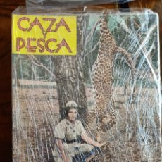 Libros de segunda mano: REVISTAS CAZA Y PESCA AÑO 1962 COMPLETO. Lote 253142205