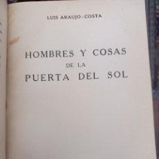 Livres d'occasion: DOS OBRAS SOBRE MADRID DE LUIS ARAUJO.COSTA. Lote 253223285