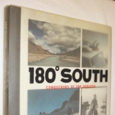 Libros de segunda mano: 180º SOUTH - CONQUERORS OF THE USELESS - YVON CHOUINARD - EN INGLES - GRAN TAMAÑO Y MUY ILUSTRADO. Lote 253292700