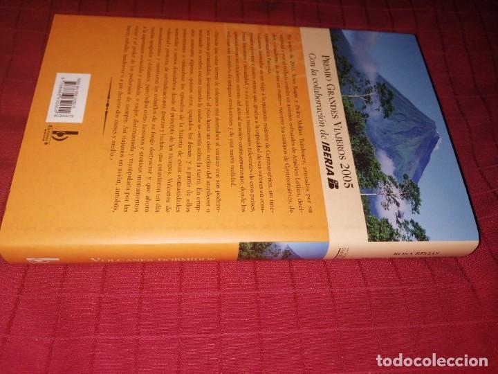 Libros de segunda mano: ROSA REGAS. PEDRO MOLINA TEMBOURY. VOLCANES DORMIDOS. - Foto 2 - 253358850