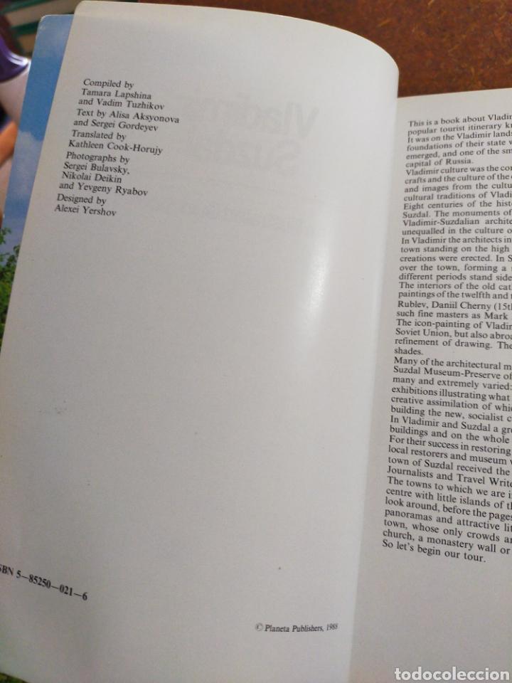 Libros de segunda mano: VLADIMIR SUZDAL AN ILLUSTRATED GUIDEBOOK - Foto 3 - 253970210