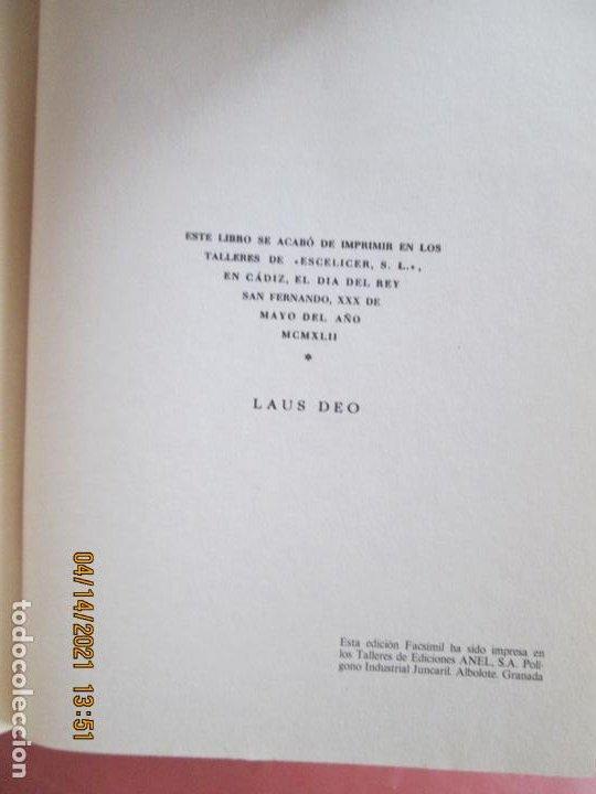Libros de segunda mano: HISTORIA DE LA CIUDAD DE SANLUCAR DE BARRAMEDA - PEDRO BARBADILLO - EJEMPLAR 1021 DE 1500- EDC ANEL - Foto 9 - 254620050